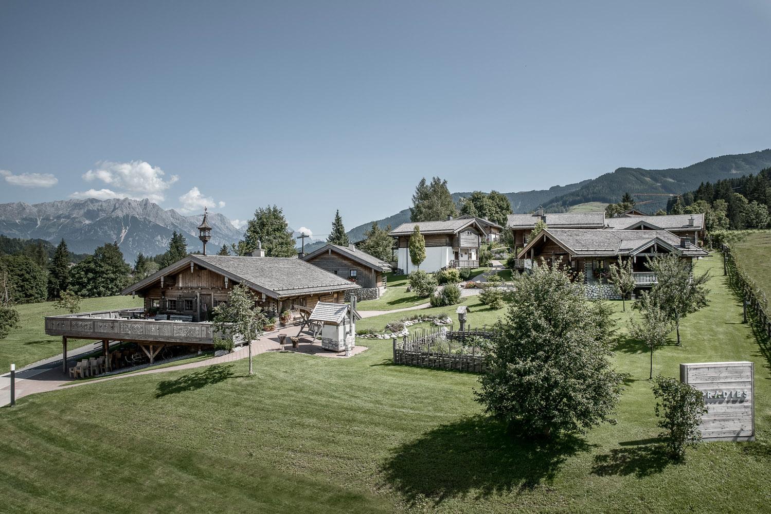 PURADIES Hotel & Chalets | Chaletdorf